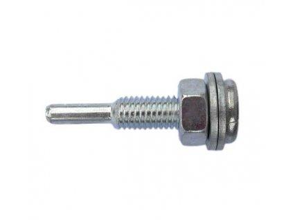 Upínací trn s maticí do vrtačky, průměr stopky 8mm MAGG 030010