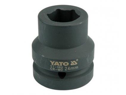 """Nástavec 1"""" rázový šestihranný 24 mm CrMo Yato YT-1180"""