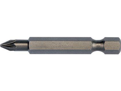 """Bit křížový 1/4"""" PZ1 x 50 mm 10 ks S2 Yato YT-78154"""