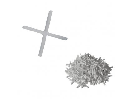 Křížky na spárování 6 mm 50 ks DEDRA DED0260A