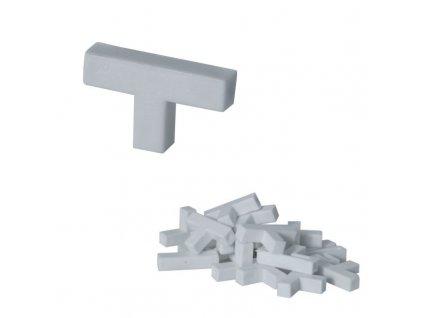 """Křížky na spárování""""T"""" 6 mm 50 ks DEDRA DED02T06"""