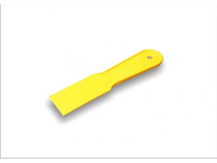 Stěrka plastová žlutá 40mm