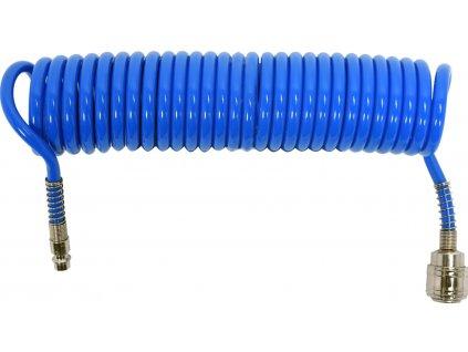 Hadice vzduchová spirální PU 5,5x8mm, 5m Yato YT-24201