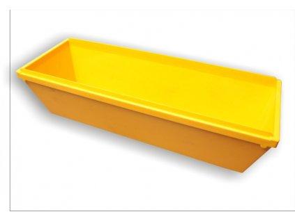 Vanička žlutá plastová na sádrování KUBALA 0726