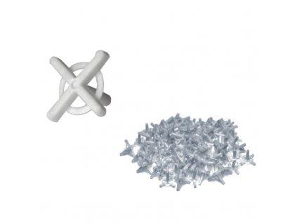 Křížky na spárování s držákem 3,0 mm 100 ks