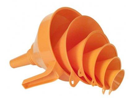 PRESSOL - sady trychtýřů 50-75-100-120-150-160mm + sítko