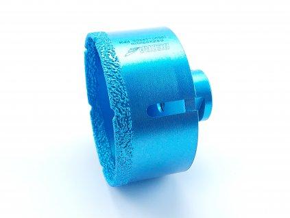Diamantová vrtací korunka Vacuum brazed do úhlové brusky; průměr 82mm
