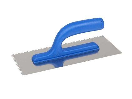 Hladítko nerezové 130x270mm zub 4x4