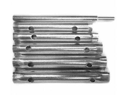 Sada nástrčkových trubkových klíčů 6ks + nástavec MAGG 080029