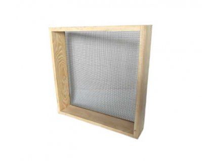 Síto na štuk 50x50cm, oko 2mm, dřevěný rám