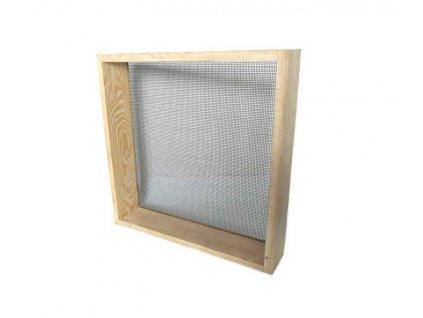 Síto na štuk 50x50cm, oko 3mm, dřevěný rám