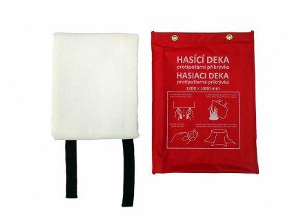Hasicí deka, protipožární přikrývka 1200x1800mm