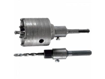 Korunkový vrták do betonu (65 mm) s úchytem SDS-plus a HEX DEDRA DED1505-2
