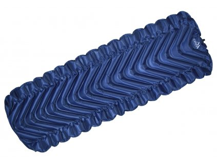 Karimatka nafukovací  TRACK 215x69cm modrá Cattara 13328