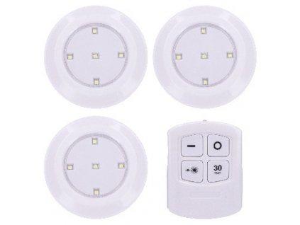 Solight LED světélka s dálkovým ovládáním, 3x 50lm, časovač,…