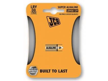 Alkalická baterie LR08/12V, blistr 1 ks JCB JCB-LRV08-1B