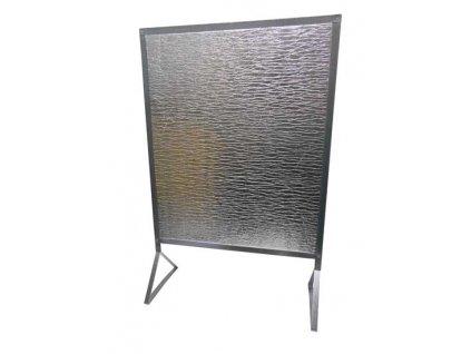 Zástěna za kamna REFLEX 740x610mm do 100°C - na nožičkách