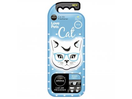 Osvěžovač AROMA CAR Cat ocean calm