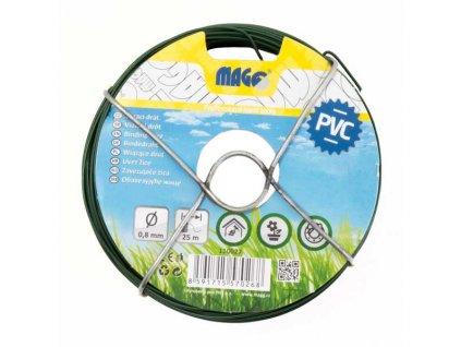 Vázací drát PVC 0,8 mm, délka 25 m