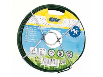 Vázací drát PVC 1,0 mm, délka 25 m