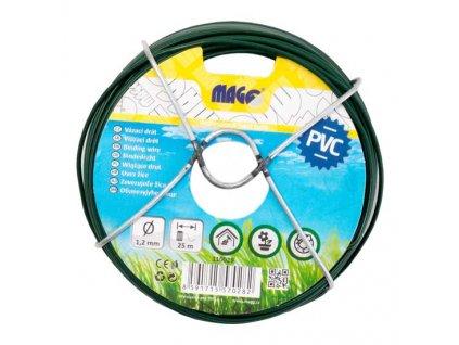 Vázací drát PVC 1,2 mm, délka 25 m