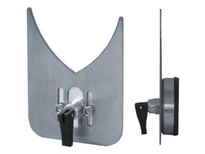 Vodící šablona s přísavkou pro diamantové vrtáky 4-75 mm, nerezová DEDRA DED1566