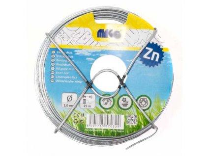 Vázací drát Zn 1,0 mm, délka 25 m
