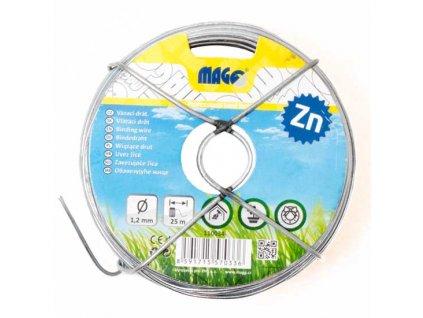 Vázací drát Zn 1,2 mm, délka 25 m