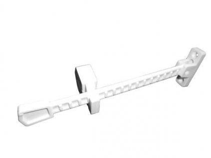 Okenní zarážka plast 1ks - bílá MAGG 110037