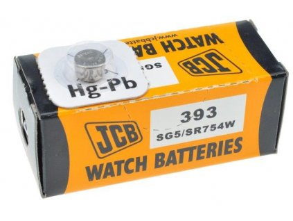 JCB hodinkové baterie typ 393, balení 10ks