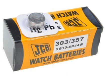 JCB hodinkové baterie typ 303/357, balení 10ks