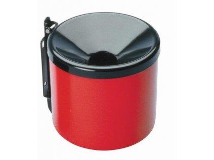 MEVA - popelník nástěnný průměr 150mm červeno/černý