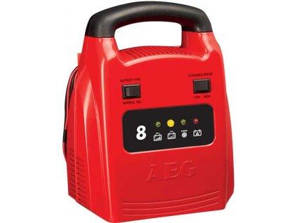 AEG - Nabíječka baterií automatická 8A, 12V, 2-80Ah AEG SA-97003