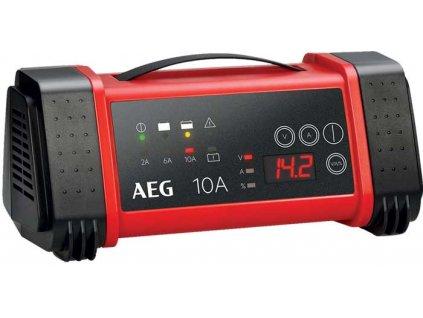 AEG - Nabíječka baterií s mikroprocesorem 10A, 12/24V, LT10