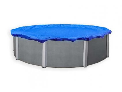 Kruhová zakrývací plachta na bazén, průměr plachty 4,6 m