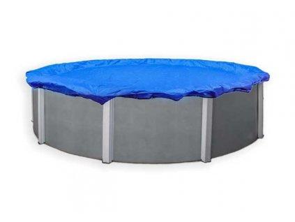 Kruhová zakrývací plachta na bazén, průměr plachty 5,5 m