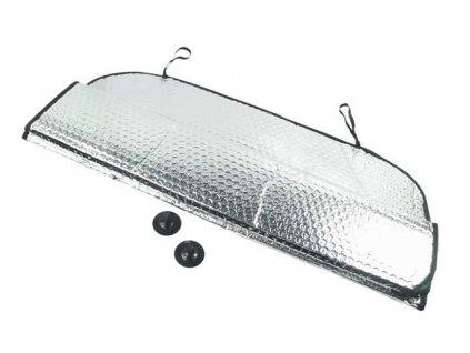Ochranná clona za přední sklo auta 145x70cm + 2 přísavky