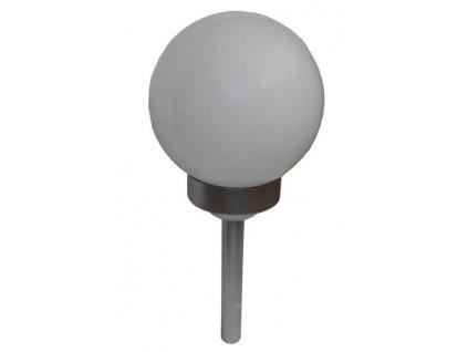 Zahradní solární kulaté LED světlo WHITE BALL