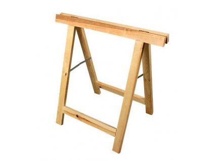 Koza dřevěná malířská 75x75cm MAGG 120018  + nosnost otestována 100 kg chlapem