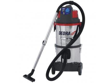 Průmyslový vysavač DED6602 s vodním filtrem na suché vysávání 1400 W / 20 l DEDRA DED6602