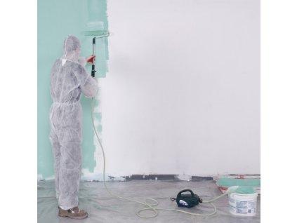 Malířský agregát s válečkem 45 W  + Snadné malování bez namáčení válečku