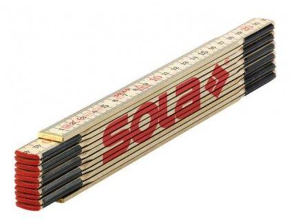 H2.4/12 - dřevěný skládací metr 2.4m SOLA 53010801