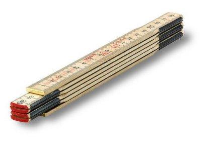 H1/6 - dřevěný skládací metr 1m SOLA 53011101