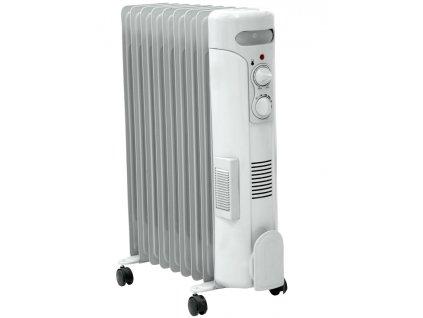 Olejový radiátor 2000W+ventilátor 500W DESCON DA-J2050F