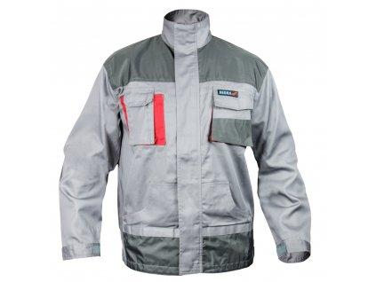 Blůza ochranná velikost S/48, šedá, Comfort Line, gramáž 190g/m2 DEDRA BH3BL-S