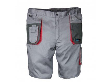 Ochranné kraťasy, velikost L/52, šedé, Comfort line, gramáž 190g/m2 DEDRA BH3ST-L