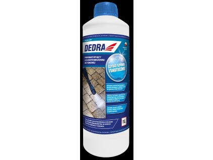 Mycí přípravek na betonové dlaždice 1L DEDRA DED8823A5