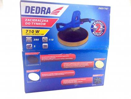 Hladička omítek 710 W houba a hladicí talíř v sadě DEDRA DED7767