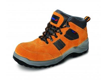 Bezpečnostní boty T3, semišové, velikost: 45, kat. S1 SRC DEDRA BH9T3V-45