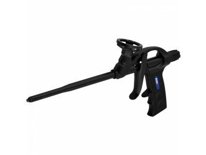 Pistole do montážní pěny, kovový, mosazná dýza, pokrytá teflonem DEDRA 1201-22